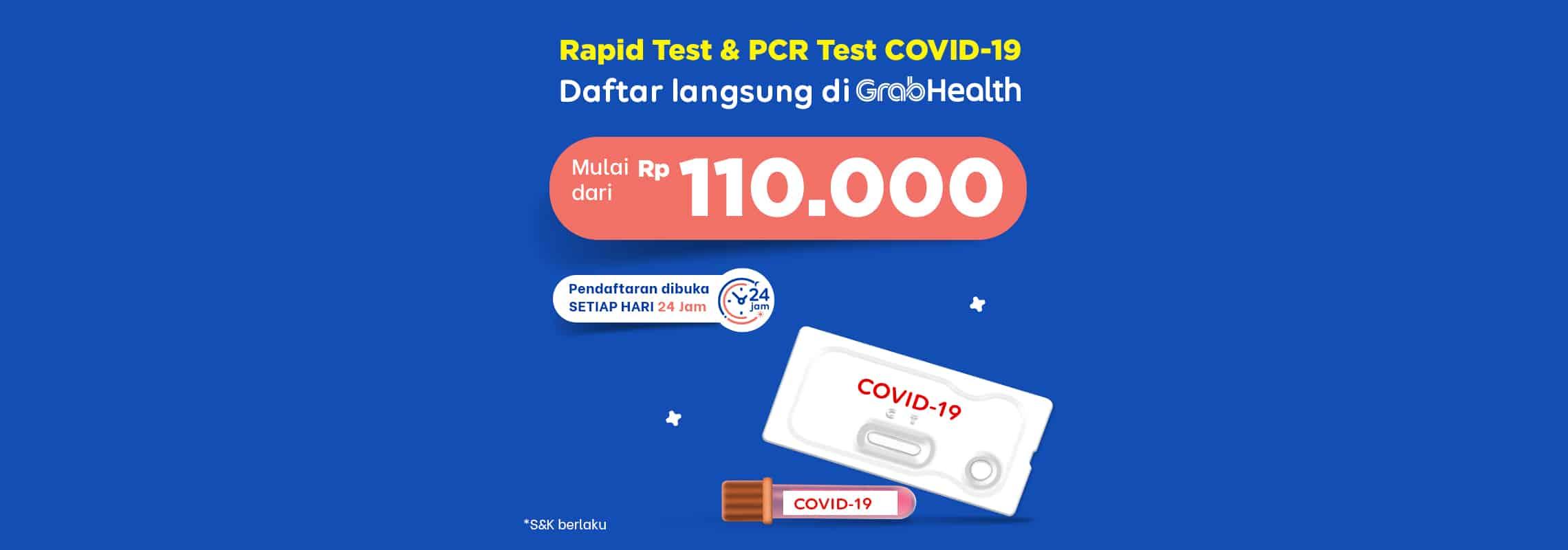 Rapid dan PCR Test