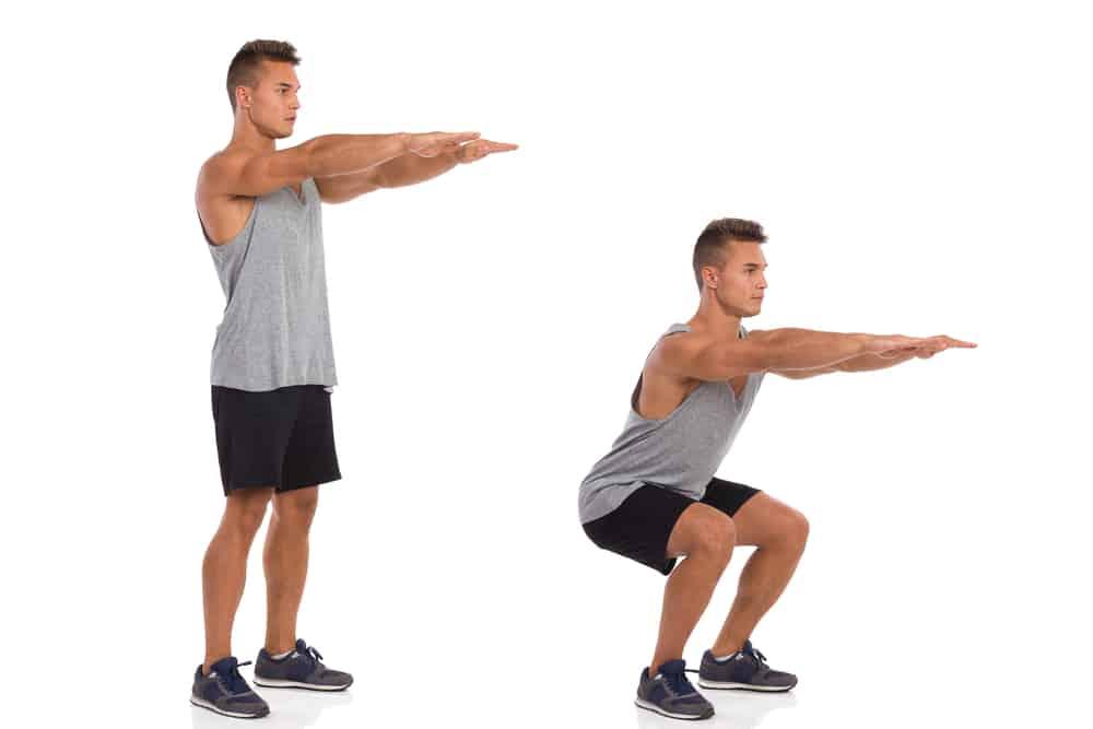 gerakan squat